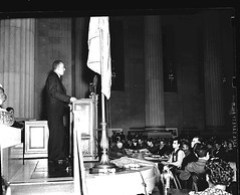 A. Phillip Randolph Speaks at 1940 Negro Congress Convention
