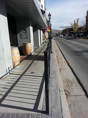 Fences on Main Street