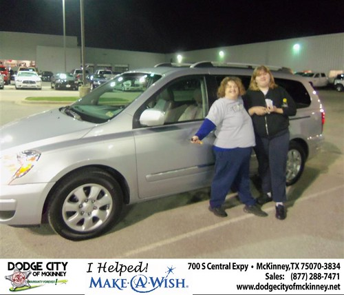 Congratulations to Richard Adlen on the 2007 Hyundai Entour by Dodge City McKinney Texas
