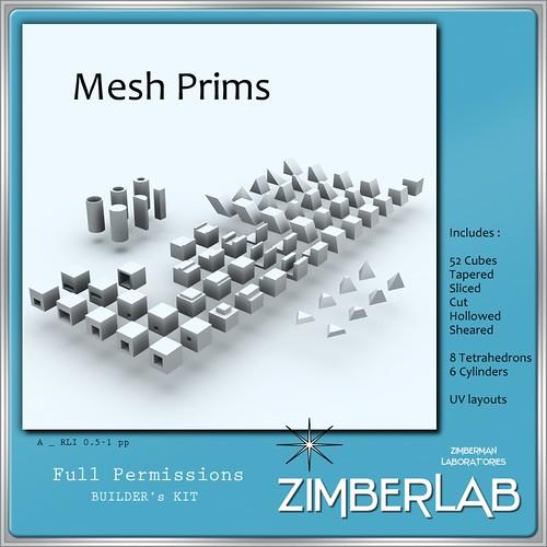 ZimberLab Mesh Prims A @ The Deck