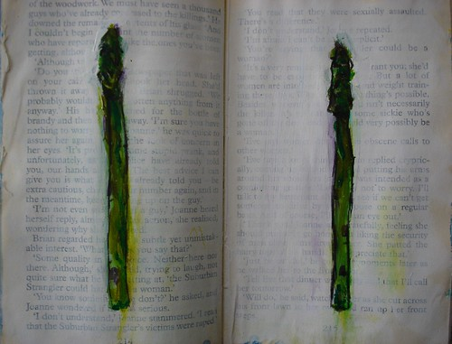 Asparagus painting planning