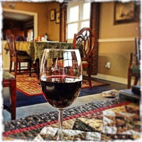 Mar 30 - relax {with family & a good glass if wine} #fmsphotoaday #wine