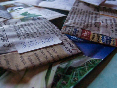 Parcel: seeds for the garden