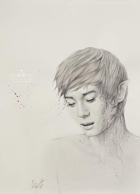 Portrait of the Rain (Chen fanart)