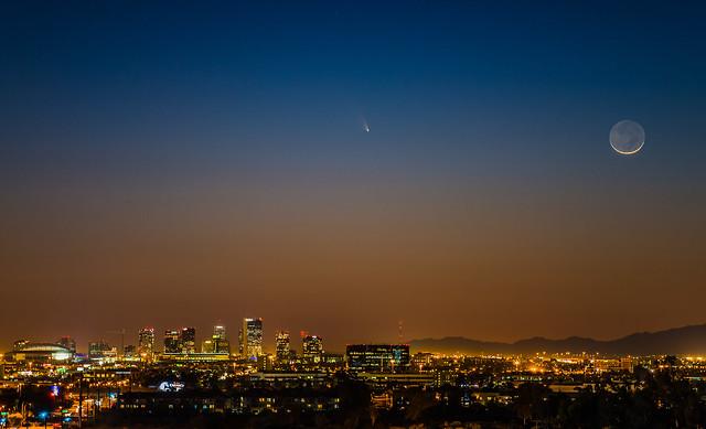 Comet PanSTARRS 01