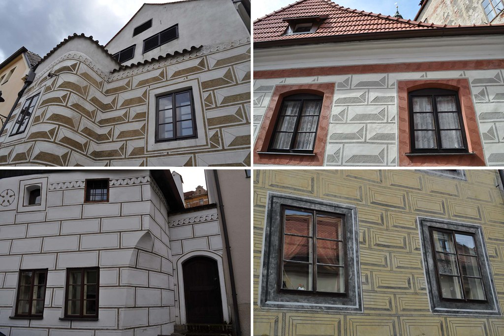 Cesky Krumlov buildings