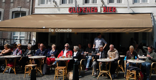 Gulpener Bier Cafe in Maastricht, Holland