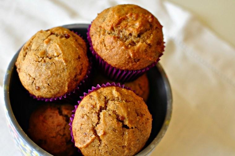 Banana Biscoff Muffins 1