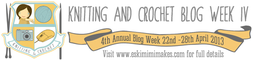 Knitting and Crochet Blog Week 4 banner