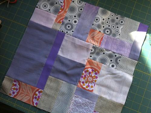 Tutorial Random Piecing Saskatoon Modern Quilt Guild