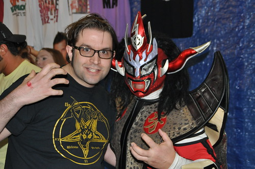 Me with Jushin Liger