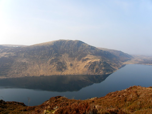Crag Fell and Angler's Crag from Great Borne