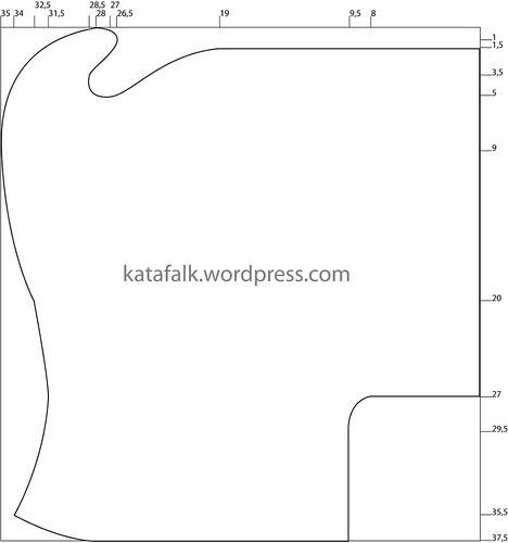 Open hood pattern