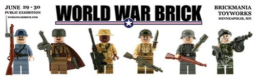World War Brick banner