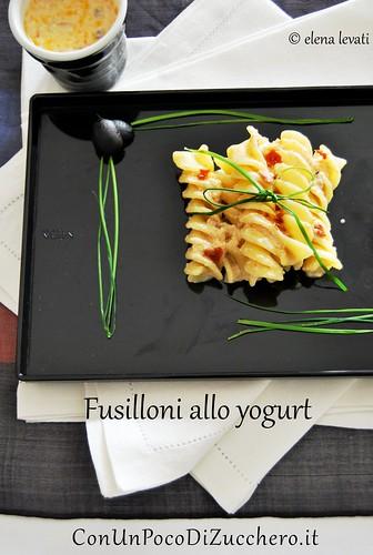 Fusilloni allo yogurt br