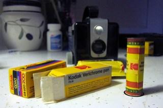 Kodak Brownie Hawkeye and expired film
