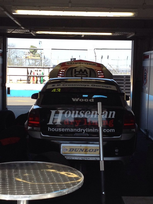 BTCC at Donington Park, April 2013