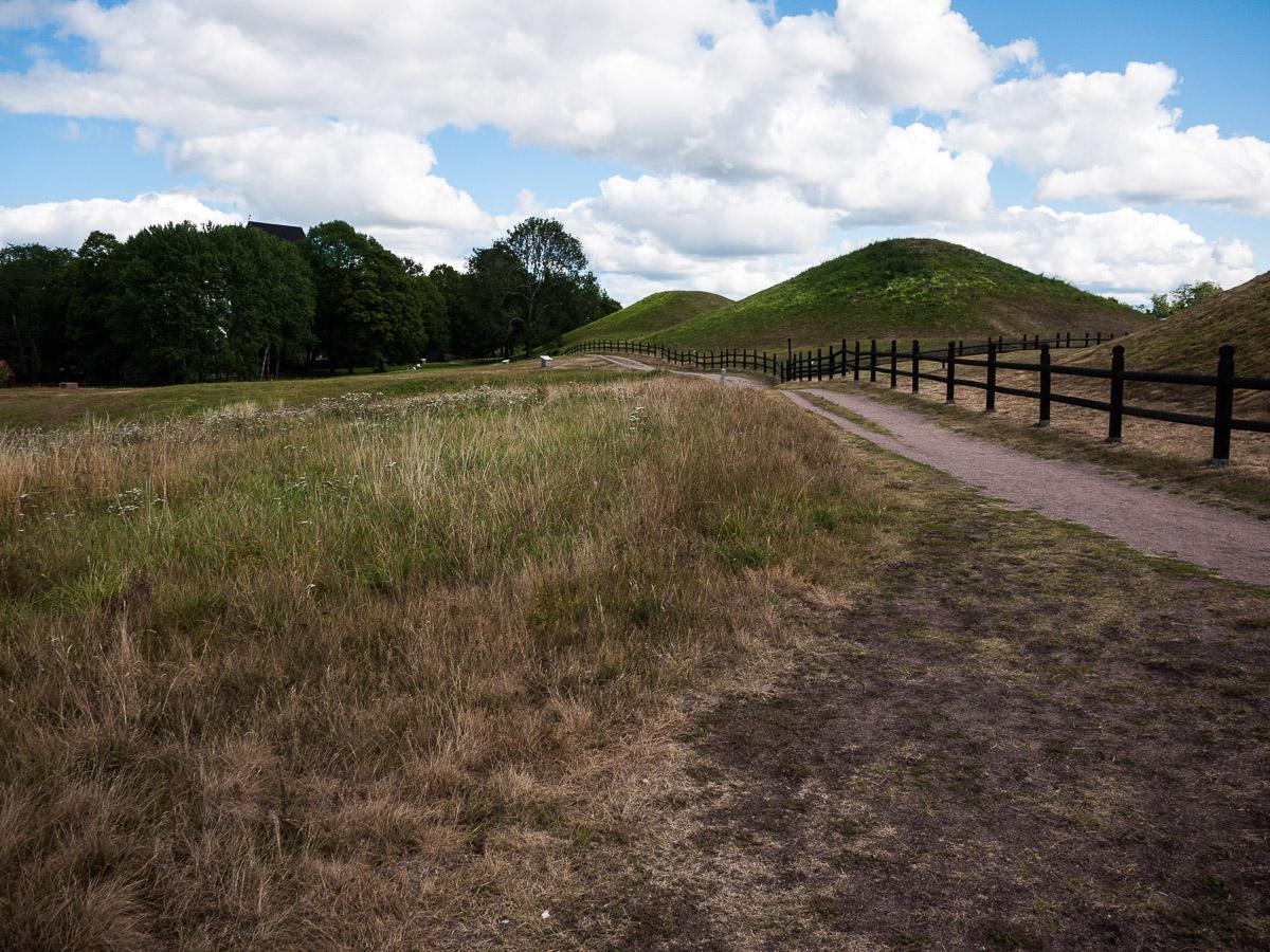 Túmulos vikingos en Gamla Uppsala