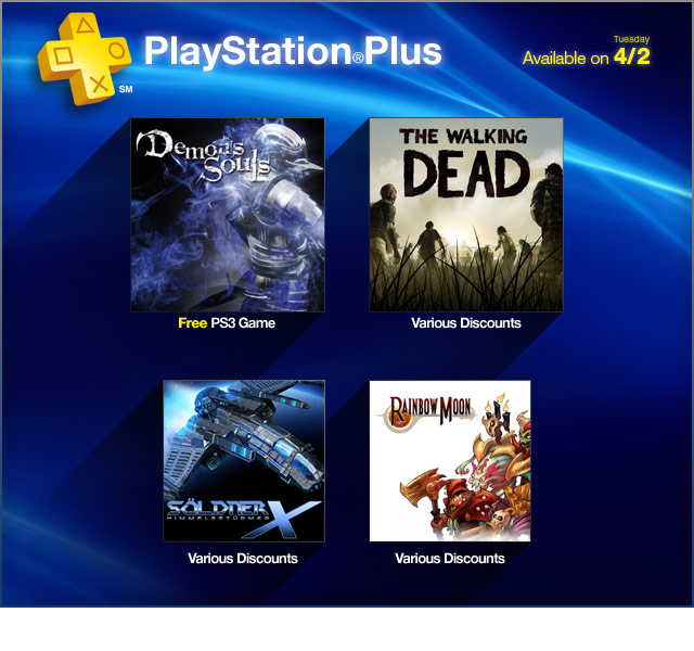 PlayStation Store Update 4-2-2013