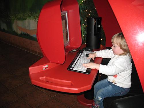 Saskia geht online - im Autohof an der A7