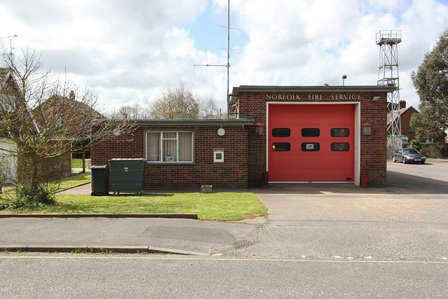 Stalham Fire Station, Norfolk