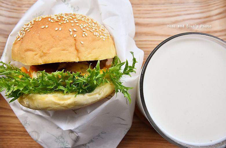 台中早午餐原三十木瓜牛奶16