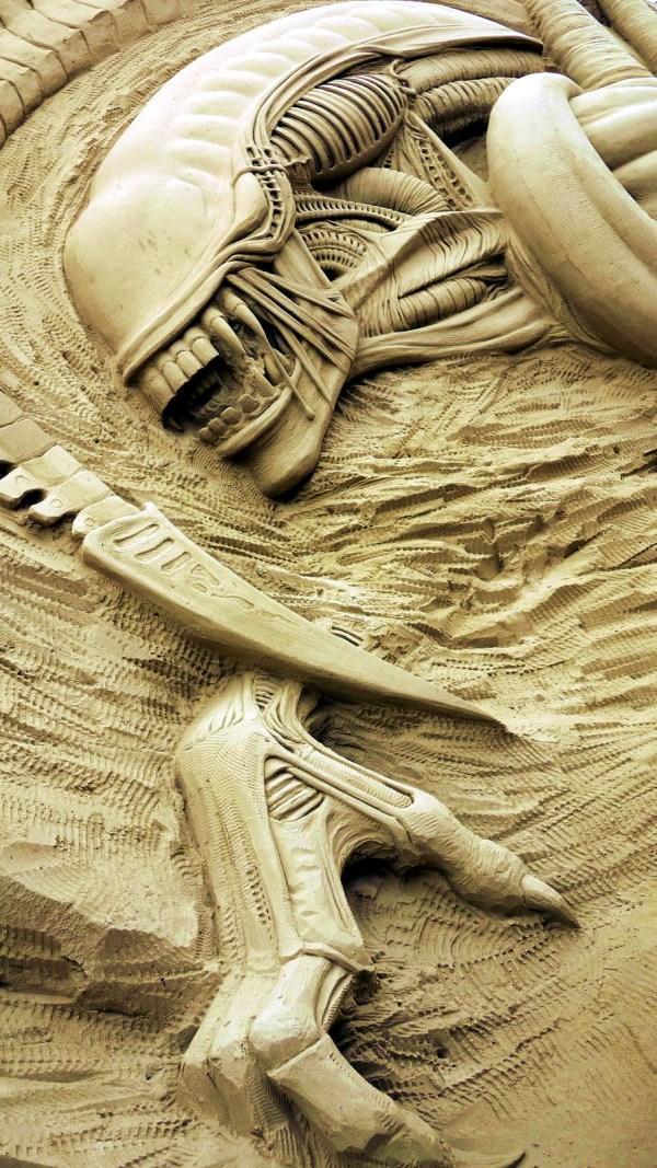 Extraordinary Sand Sculptures
