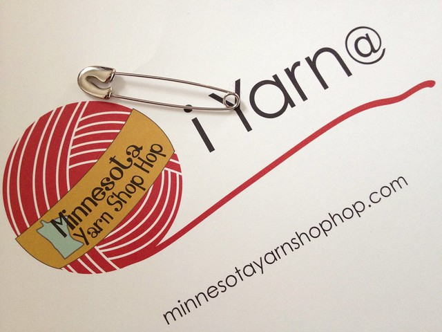 I completed the 2013 Minnesota Yarn Shop Hop! #project365