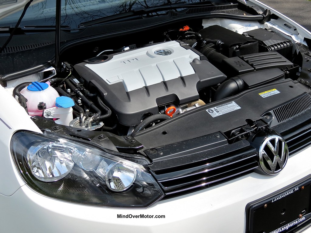 2013 VW Jetta Sportwagen TDI engine