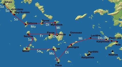 Griechenland 2013 - Ägäis-Törn