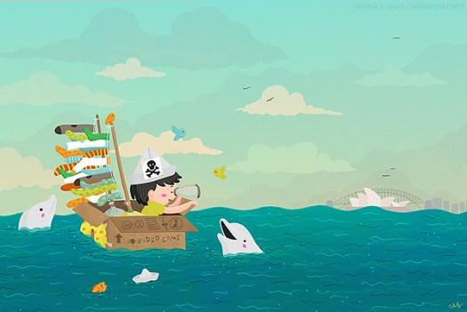 Sailing to Australia