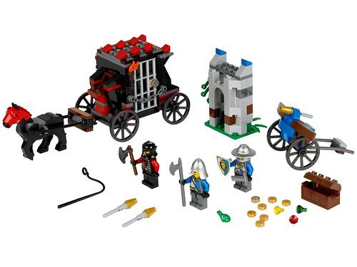 LEGO Castle 2013 70401 Gold Getaway
