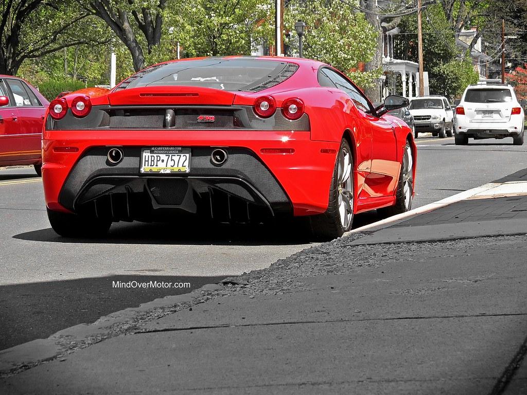 Ferrari F430 Scuderia spotted in Newtown, PA