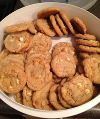 Butterscotch, White Chocolate Cookies