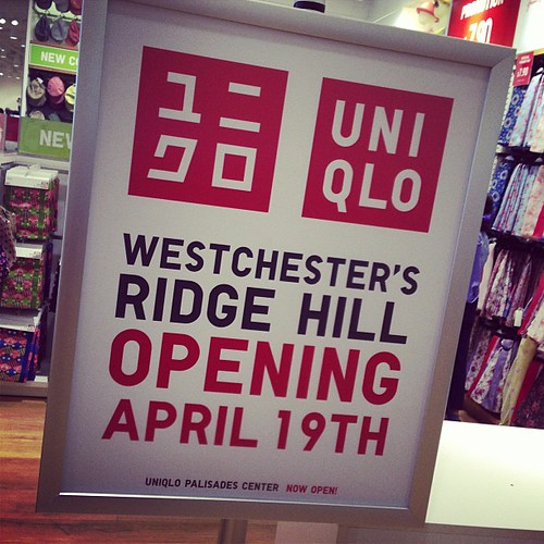 Uniqlo Westchester