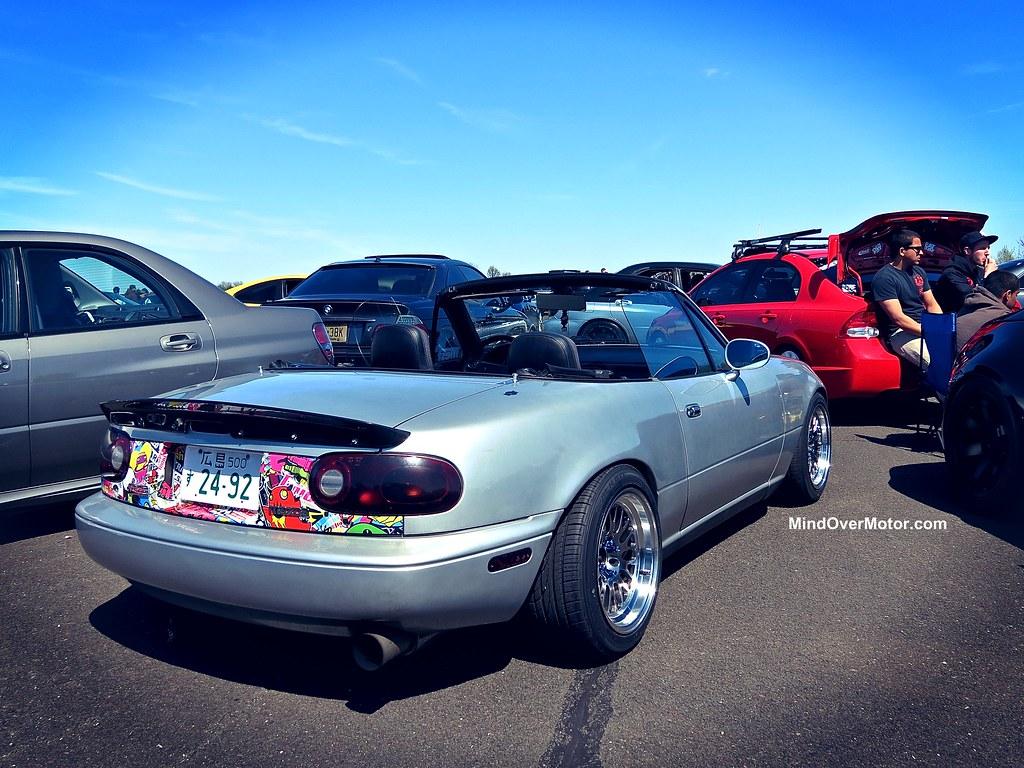 Slammed Mazda Miata