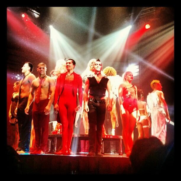 Opening night performance of Le Noir at Mastercard Theatres at Marina Bay Sands