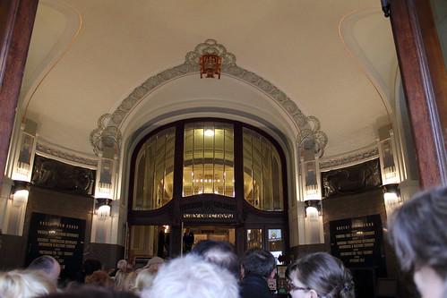 Entrance to the Obecní dům