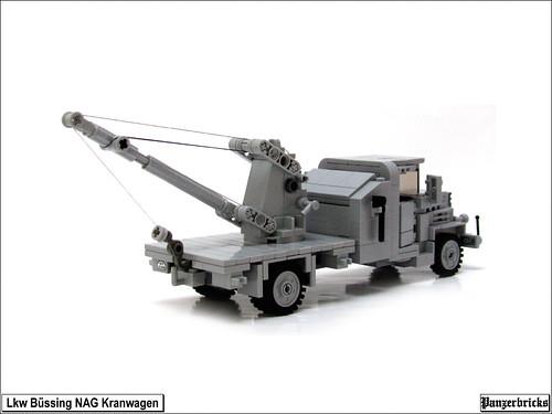 Bussing-NAG 4500A Kranwagen Kfz 100 de Panzerbricks