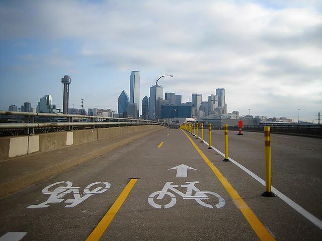 Cycle Tracks Dallas - Jefferson Bridge