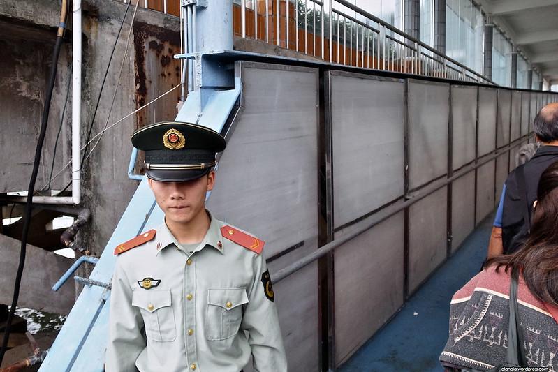 Chinese Custom Officer