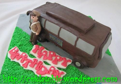 Cake Mobil Polisi