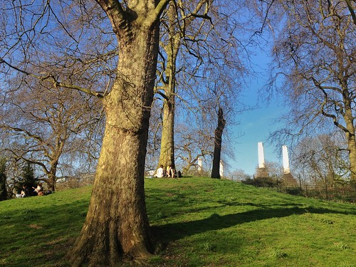 Spring at Battersea Park, London