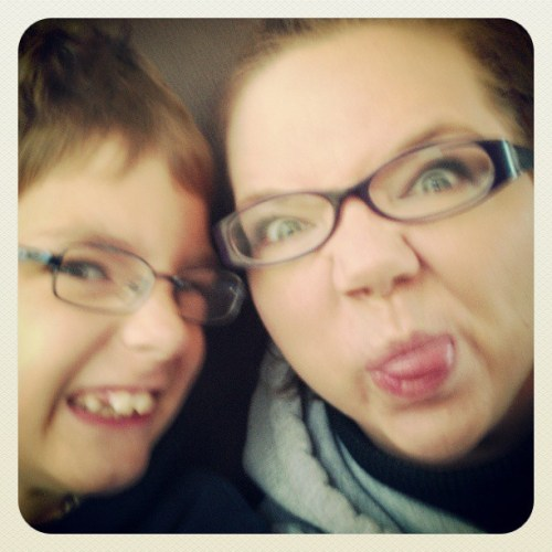 Field trip with my favorite little dude.