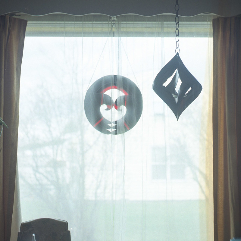 Things hanging in the window