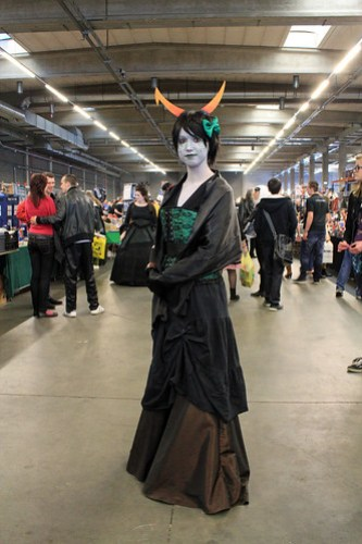 Homestruck cosplayer