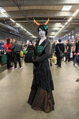 Homestruck cosplayer