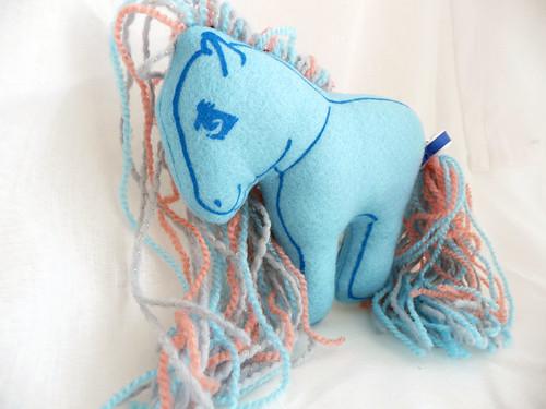 Urban Pony Exhibition Entry - Plush Pony