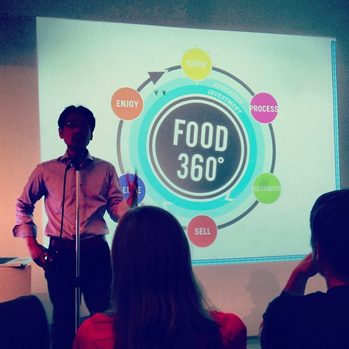 Mark Shieh describes his Food 360 project @BigMouthSeries