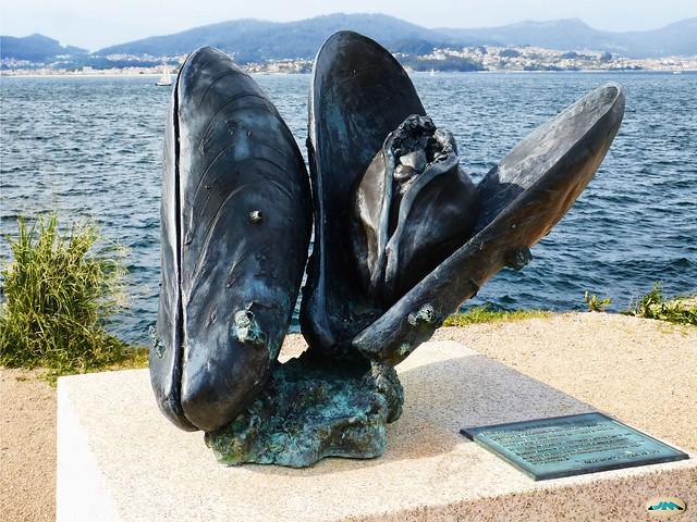 Vigo-Paseo de Bouzas-Mejillones al bronce